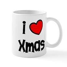 I Love Xmas Mug