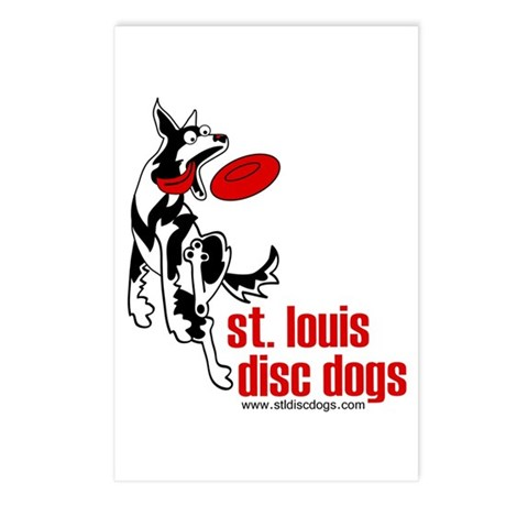 St. Louis Disc Dogs Postcards (Package of 8)