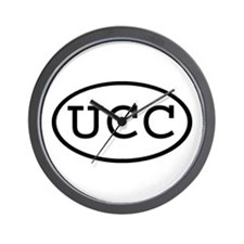UCC Oval Wall Clock