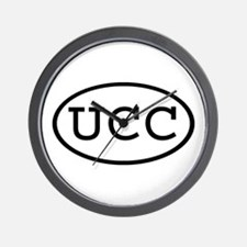 UCC Oval Wall Clock