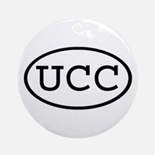 UCC Oval Ornament (Round)