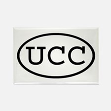 UCC Oval Rectangle Magnet