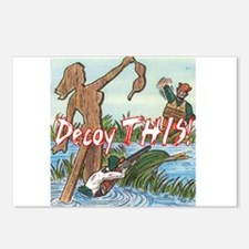 Decoy THIS! Postcards (Package of 8)
