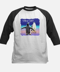 Penguin Snow Day No School - Tee