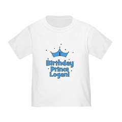 1st Birthday Prince Logan! T