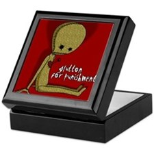 'Glutton for Punishment' Keepsake Box