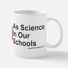No Intelligent Design As Science  Mug