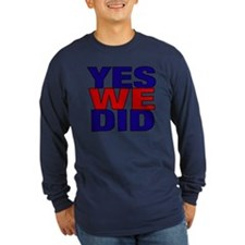 Yes We Did T