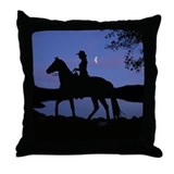 Horse lover Throw Pillows