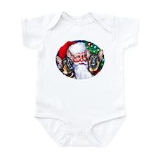 Santa's GSD Christmas Infant Bodysuit