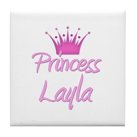 Princess Layla Tile Coaster