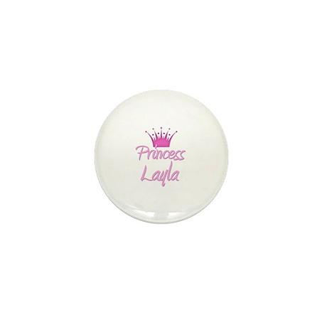 Princess Layla Mini Button