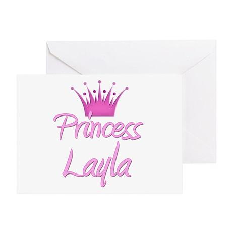 Princess Layla Greeting Card