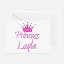 Princess Layla Greeting Card