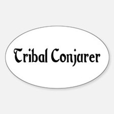 Tribal Conjurer Oval Decal