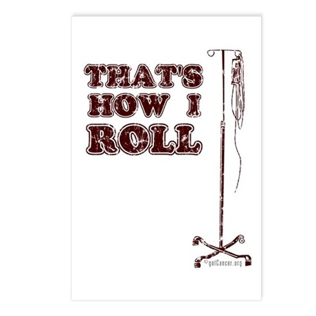 How I Roll (dist.) Postcards (Package of 8)