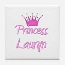 Princess Lauryn Tile Coaster