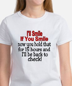 I'll smile if you smile Tee