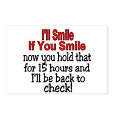I'll smile if you smile Postcards (Package of 8)