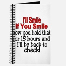 I'll smile if you smile Journal