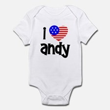 I Love Andy (Roddick) Infant Bodysuit