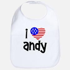 I Love Andy (Roddick) Bib