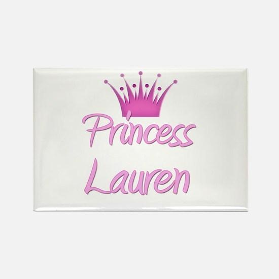 Princess Lauren Rectangle Magnet