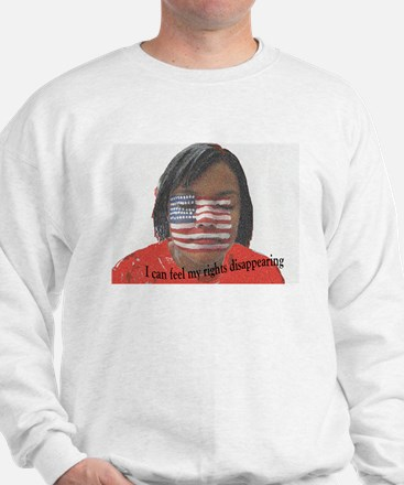 Disappearing Rights Sweatshirt