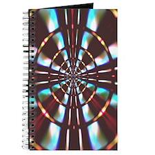 """""""Wheel"""" Fractal Art Journal"""