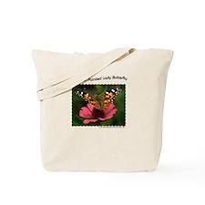 3988 American Painted Lady Tote Bag (1 Side)