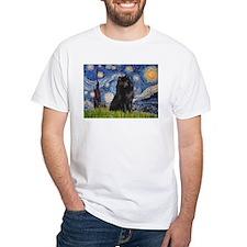 Starry Night Schipperke Shirt
