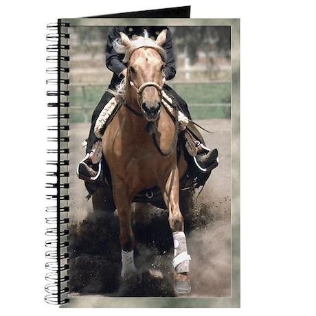 Reining Horse Slide Journal