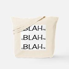 oBLAHma Tote Bag