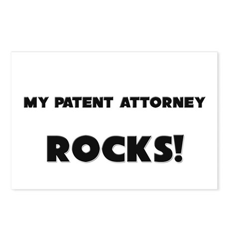 MY Patent Attorney ROCKS! Postcards (Package of 8)