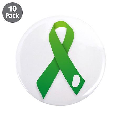 "Kidney Donation Awareness 3.5"" Button (10 pac"