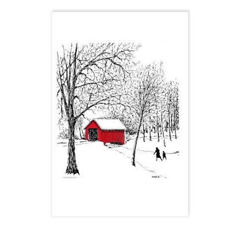 Covered Bridge Postcards (Package of 8)
