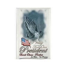 Pray for President Obama - Rectangle Magnet