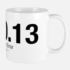 End of an Error Discount Mug