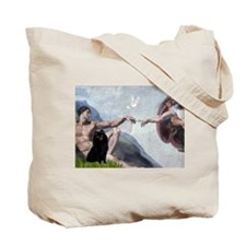 Creation of the Schipperke Tote Bag