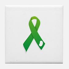 Kidney Donation Awareness Tile Coaster