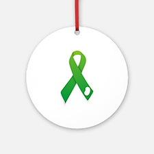 Kidney Donation Awareness Ornament (Round)