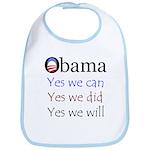 Obama: Yes we will Bib