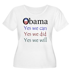 Obama: Yes we will T-Shirt
