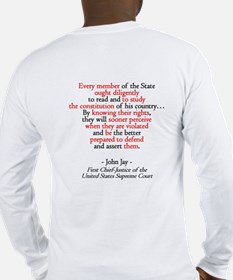 Read the Constitution? Long Sleeve T-Shirt