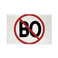 No BO - NObama Rectangle Magnet (100 pack)