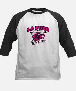 La Push Wolves Team Emblem (pink) Tee