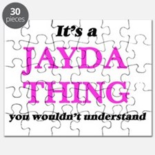 It's a Jayda thing, you wouldn't un Puzzle
