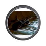 Darkside of Precious the DOG Wall Clock