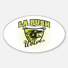 La Push Wolves Emblem (green) Oval Decal