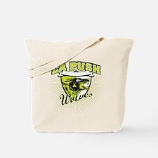 La Push Wolves Emblem (green) Tote Bag